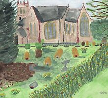 St Johns ~ Stockcross, in springtime.  by KBlackmore