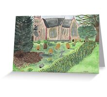 St Johns ~ Stockcross, in springtime.  Greeting Card