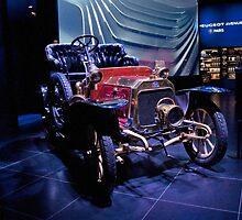 Vintage Peugeot by phil decocco