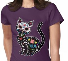 Dia de los Gatos Womens Fitted T-Shirt