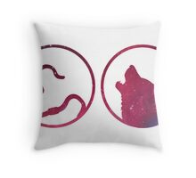 Moony, Wormtail, Padfoot, Prongs Throw Pillow