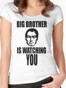 Big Brother is Watching You Women's Fitted Scoop T-Shirt