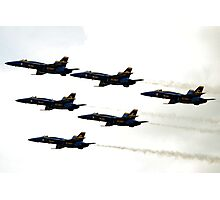 Blue Angels in the Sky Photographic Print