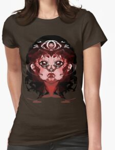 The Girl with her demons Womens Fitted T-Shirt