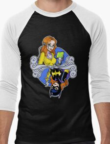 Batgirl - Queen of Spades Men's Baseball ¾ T-Shirt