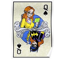 Batgirl - Queen of Spades Poster