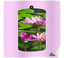 WATERLILLY CANNISTER Poster