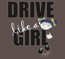 drive like a girl Kids Clothes