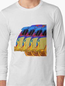 VDubs Surfer Vans Long Sleeve T-Shirt
