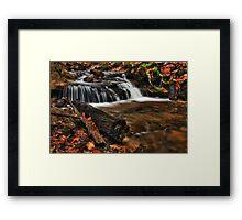 Wagner Falls Stream 1 Framed Print