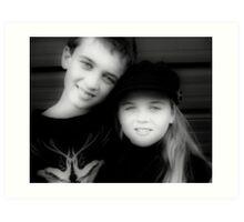Jay and Kaylee  Art Print