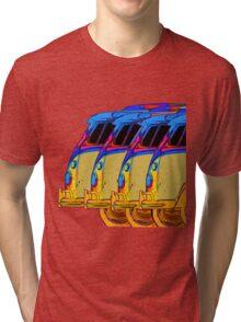 Surfer Vans Tri-blend T-Shirt
