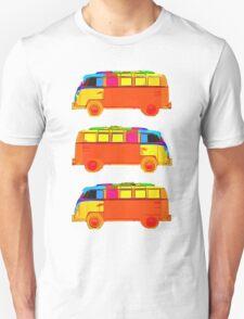 VW Surfer Vans 3 Unisex T-Shirt