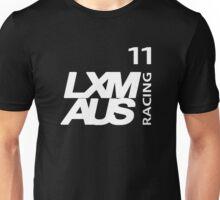 LXM Australia Racing #11 - White Unisex T-Shirt