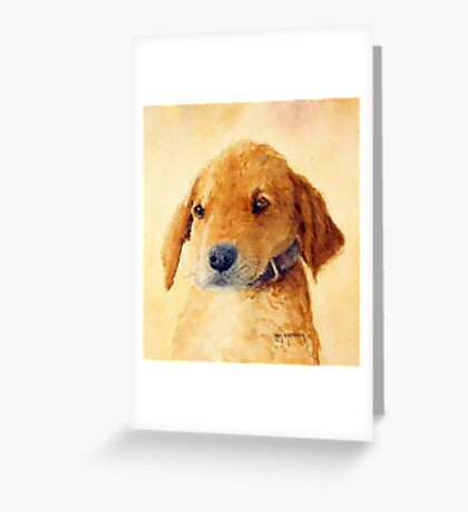 The Puppy Greeting Card
