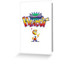 Dynamite Headdy Greeting Card