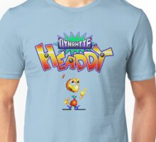 Dynamite Headdy - SEGA Genesis Title Screen Unisex T-Shirt