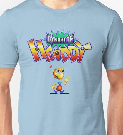 Dynamite Headdy - SEGA Genesis Title Screen Unisex T-Shirt