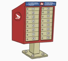 Canada Post Superbox by MacKaycartoons