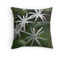 Star Jasmine Throw Pillow