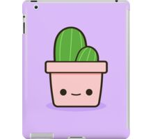 Cactus in cute pot iPad Case/Skin