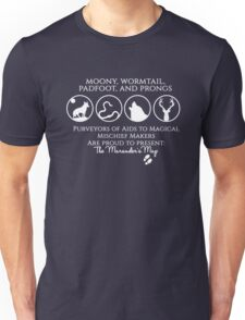 Moony, Wormtail, Padfoot, Prongs  Unisex T-Shirt