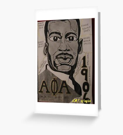 MLK Greeting Card