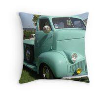 International High Cab Truck Throw Pillow