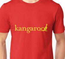 k is for kangaroo. Unisex T-Shirt