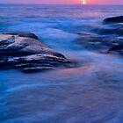 Aliso Beach Laguna California by photosbyflood