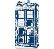 Splatter the TARDIS iPhone Case/Skin