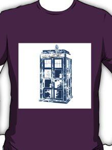 Splatter the TARDIS T-Shirt