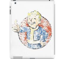 Dissolving Vault Boy   iPad Case/Skin