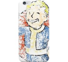 Dissolving Vault Boy   iPhone Case/Skin