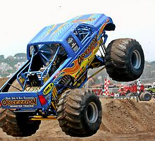 Monster Trucks - Big Things Go Boom by Christine Till  @    CT-Graphics