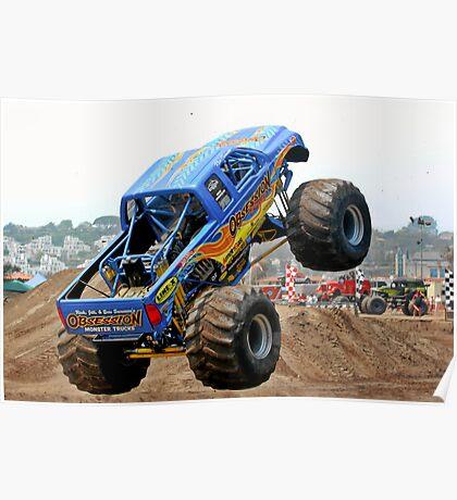 Monster Trucks - Big Things Go Boom Poster