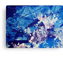 Crescendo in Blue Canvas Print