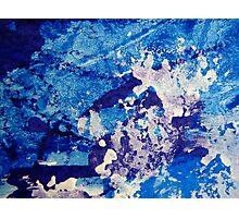 Crescendo in Blue Photographic Print