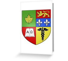 Granby Coat of Arms Greeting Card