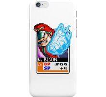 M. Bison iPhone Case/Skin