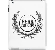 Fear No One iPad Case/Skin