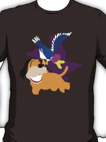 Super Smash Bros Duck Hunt Duo T-Shirt