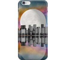 Moon Over The City iPhone Case/Skin