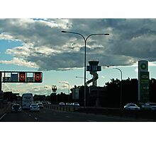 Late Afternoon Traffic Photographic Print