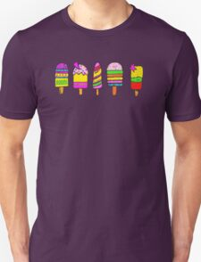 ice lollies (popsicles) Unisex T-Shirt
