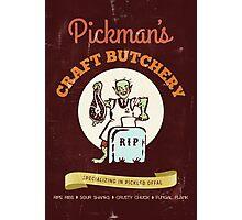 Pickman's Craft Butchery Photographic Print
