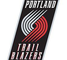 Portland Trail Blazers by Enriic7