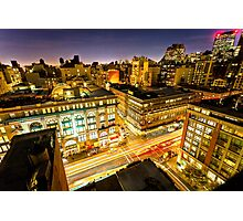 6 Ave Photographic Print