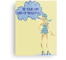 Be Your Own Kind Of Beautiful! ~ LMG (C) 2015 Metal Print