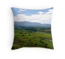Crown Range NZ. Throw Pillow